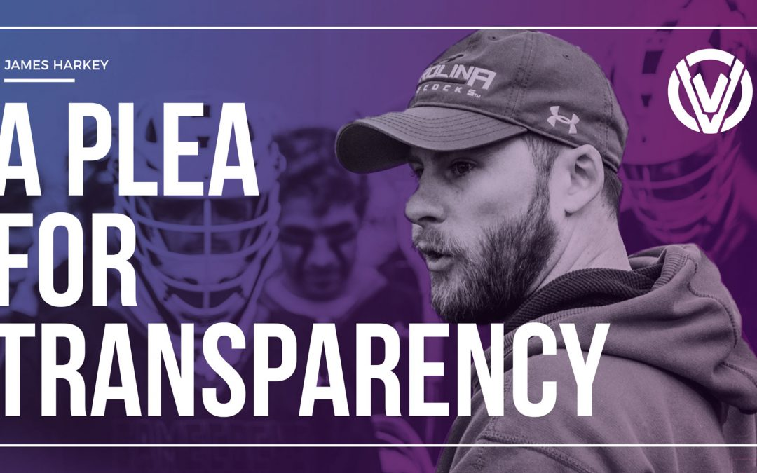 A Plea for Transparency